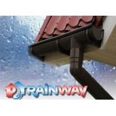 Водосточная система RAINWAY 130 коричневая