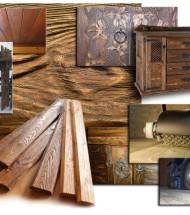 Декоративные и защитные средства для древесины