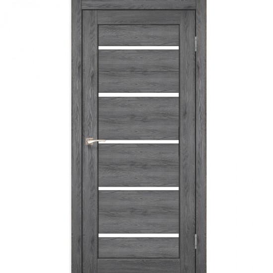 Дверь Porto PR-02 со стеклом бронза Дуб марсала