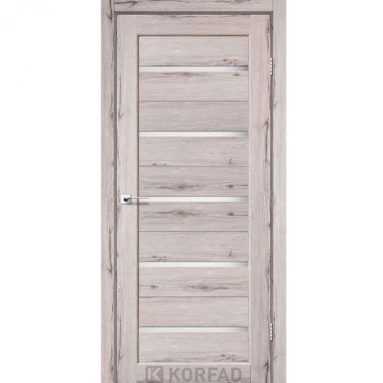 Дверь Porto PR-02 со стеклом сатин Дуб нордик