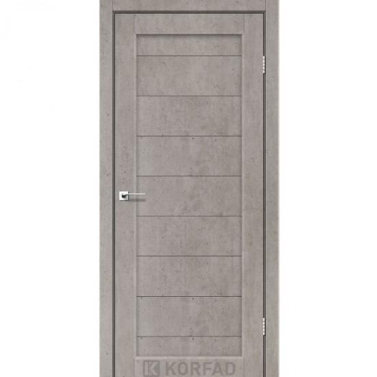 Дверь Porto PR-05 глухое Лайт бетон