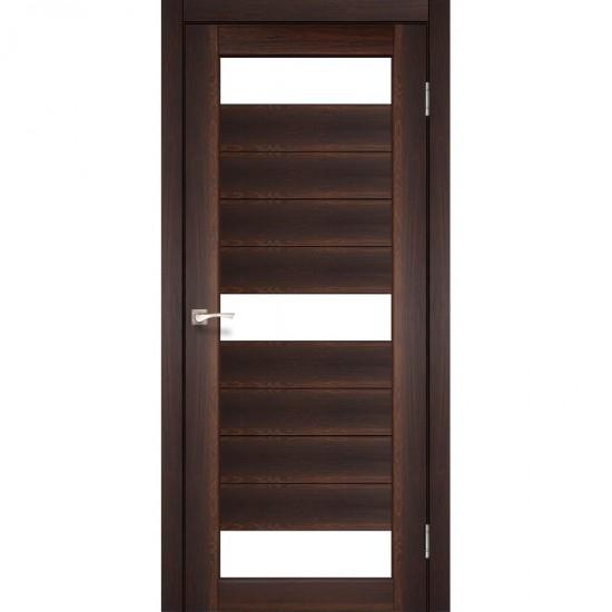 Дверь Porto PR-14 со стеклом сатин Орех