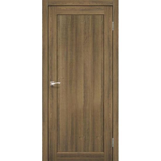 Двери Porto Deluxe PD-03 глухое Дуб браш