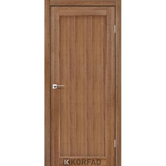 Двери Porto Deluxe PD-03 глухое Дуб тобакко