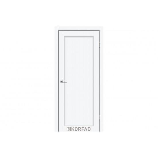 Двери Porto Deluxe PD-03 глухое Белый перламутр