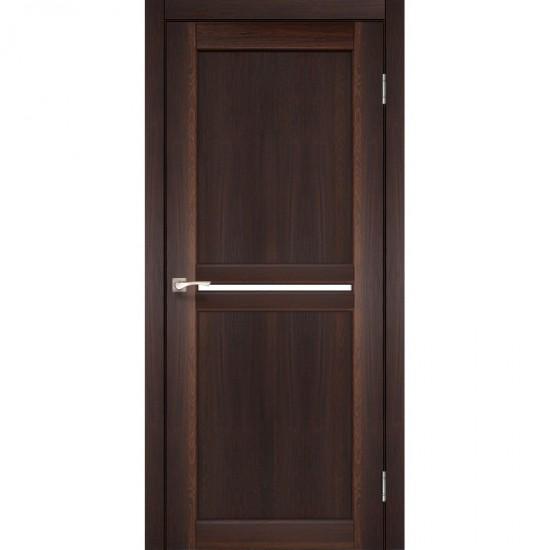 Дверь Milano ML-02 со стеклом бронза Орех