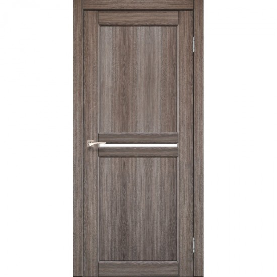 Дверь Milano ML-02 со стеклом бронза Дуб грей