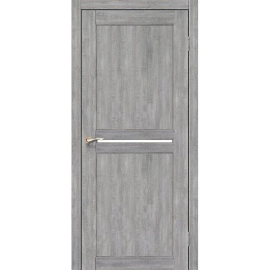 Дверь Milano ML-02 со стеклом сатин Эш-вайт
