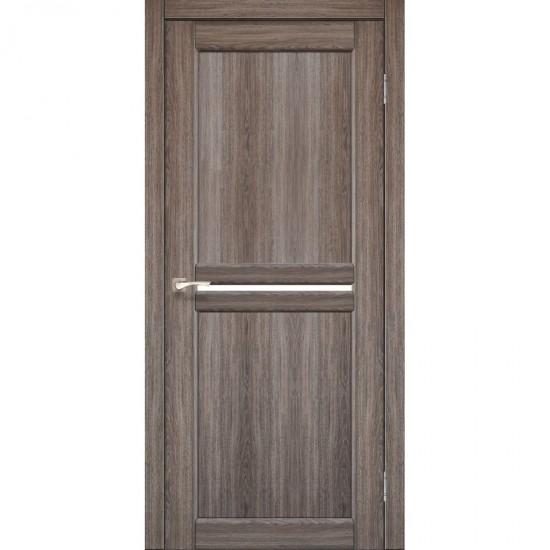 Дверь Milano ML-02 со стеклом сатин Дуб тобакко