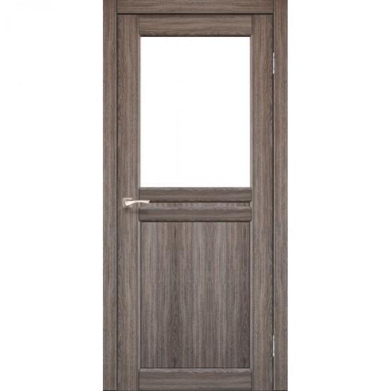 Дверь Milano ML-03 со стеклом бронза Дуб грей