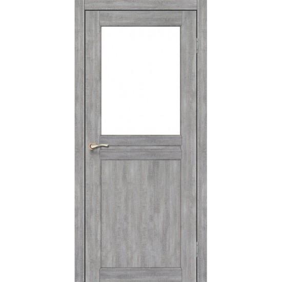 Дверь Milano ML-03 со стеклом сатин Эш-вайт