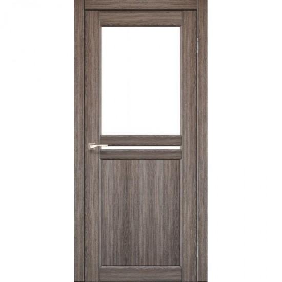 Дверь Milano ML-04 со стеклом сатин Дуб грей