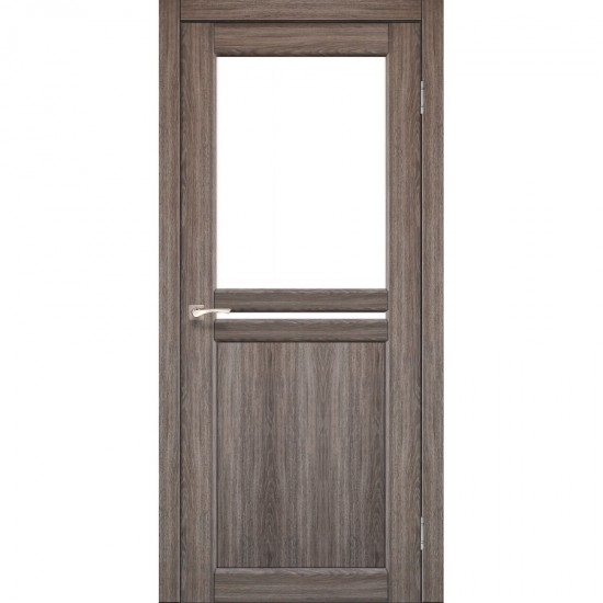Дверь Milano ML-04 со стеклом бронза Дуб грей