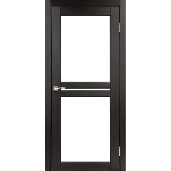 Дверь Milano ML-05 со стеклом бронза Венге