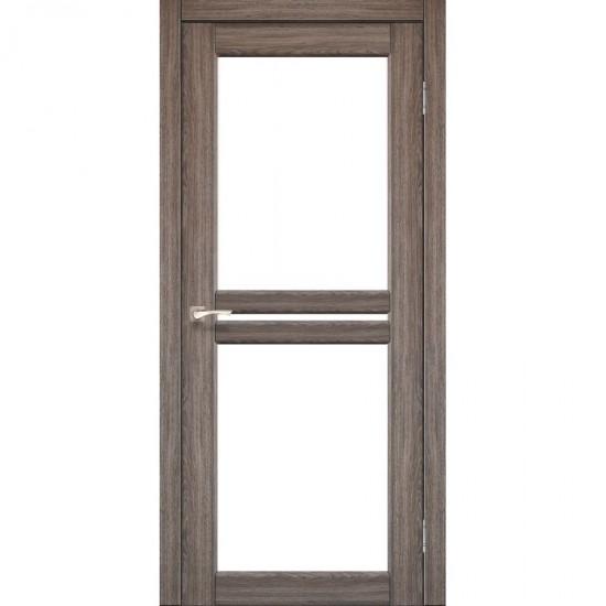 Дверь Milano ML-05 со стеклом бронза Дуб грей