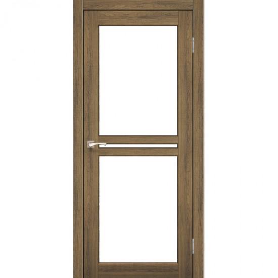 Дверь Milano ML-05 со стеклом бронза Дуб браш