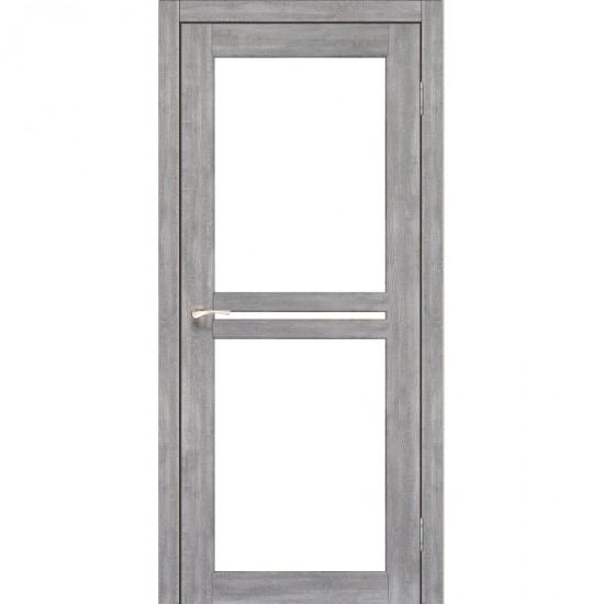 Дверь Milano ML-05 со стеклом сатин Эш-вайт