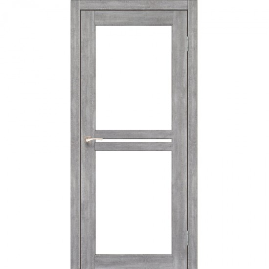 Дверь Milano ML-05 со стеклом бронза Эш-вайт
