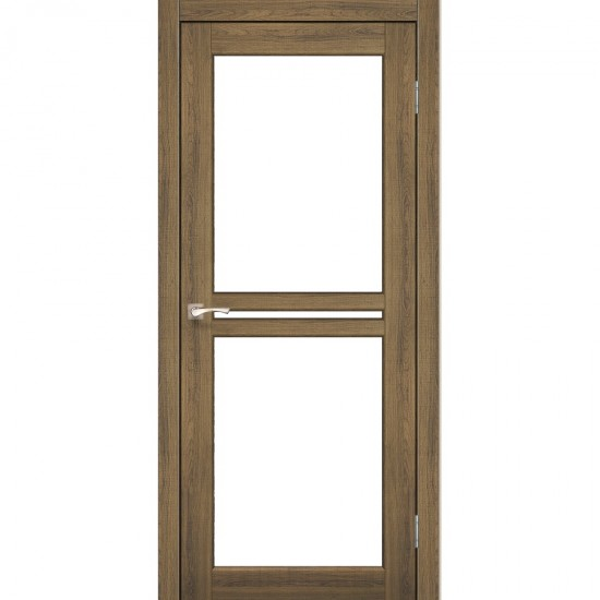 Дверь Milano ML-05 со стеклом сатин Дуб тобакко