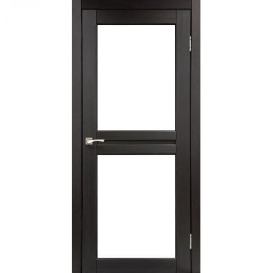 Дверь Milano ML-07 со стеклом бронза Венге