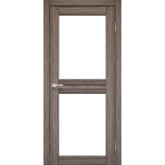 Дверь Milano ML-07 со стеклом бронза Дуб грей
