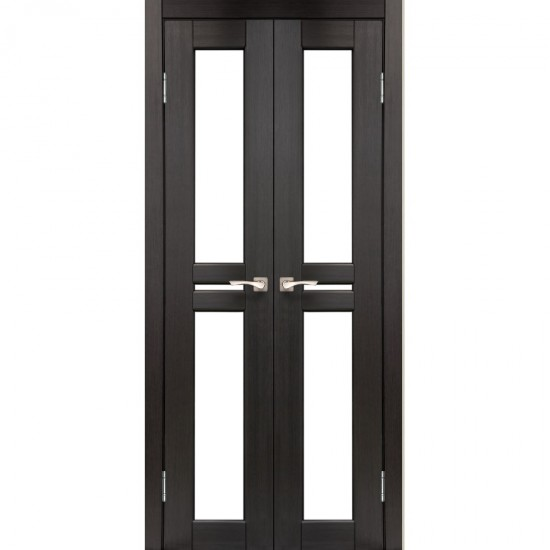 Дверь Milano ML-08 со стеклом бронза Венге