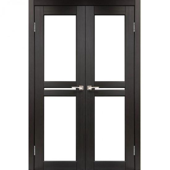 Дверь Milano ML-09 со стеклом сатин Венге