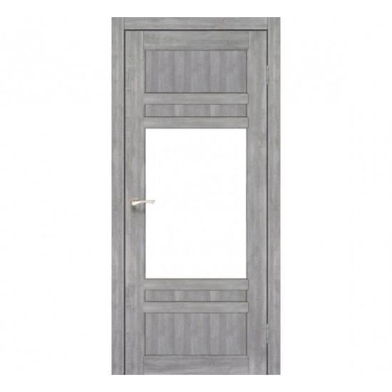 Дверь Tivoli TV-01 со стеклом сатин Дуб нордик