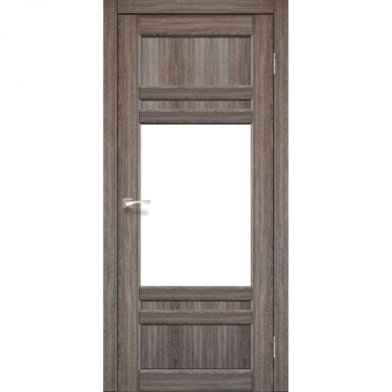 Дверь Tivoli TV-01 со стеклом бронза Дуб грей