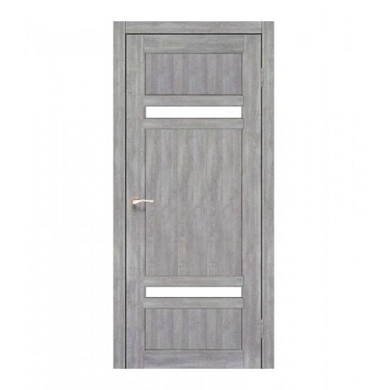 Дверь Tivoli TV-03 со стеклом сатин Эш-вайт