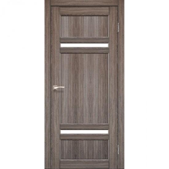 Дверь Tivoli TV-03 со стеклом сатин Дуб тобакко