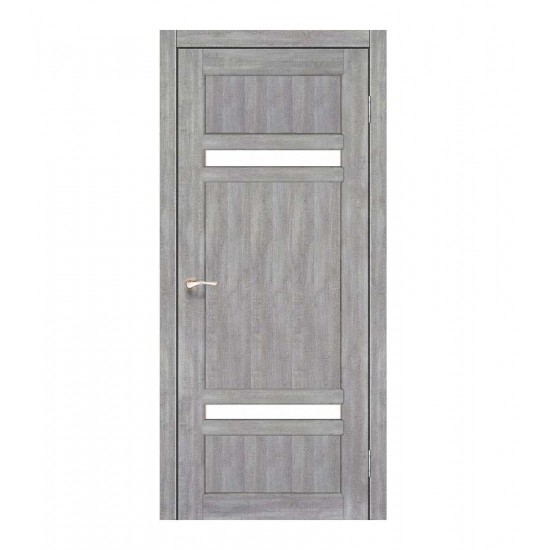 Дверь Tivoli TV-03 со стеклом сатин Дуб нордик