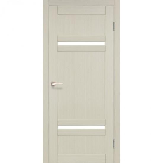 Дверь Tivoli TV-03 со стеклом сатин Белый перламутр