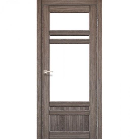 Дверь Tivoli TV-04 со стеклом бронза Дуб грей