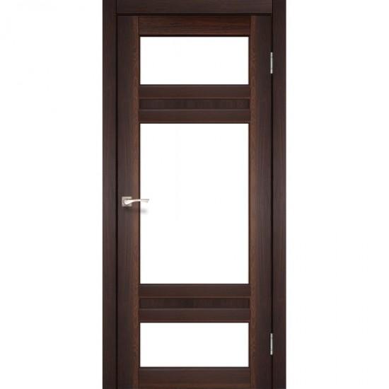Дверь Tivoli TV-05 со стеклом сатин Орех