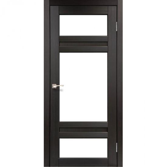 Дверь Tivoli TV-05 со стеклом бронза Венге