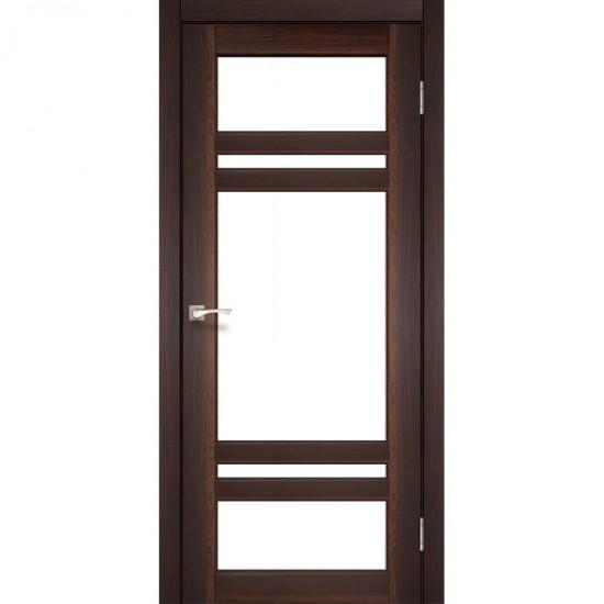 Дверь Tivoli TV-06 со стеклом сатин Орех