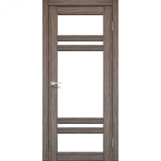Дверь Tivoli TV-06 со стеклом сатин Дуб грей