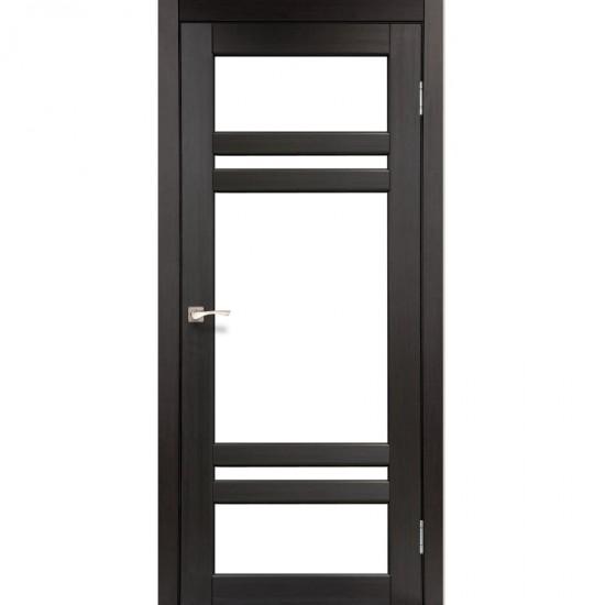 Дверь Tivoli TV-06 со стеклом бронза Венге