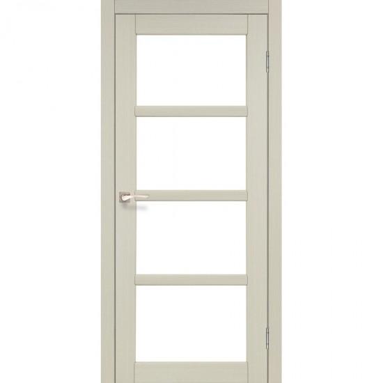Дверь Aprica AP-02 со стеклом сатин Дуб беленый