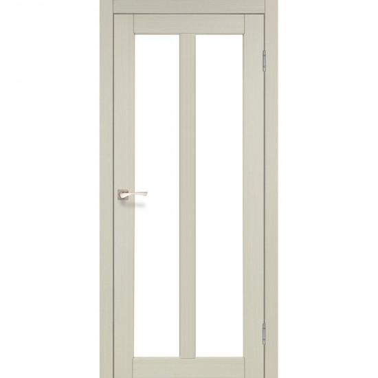 Дверь Torino TR-02 со стеклом сатин Дуб беленый