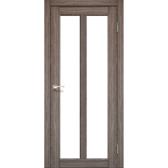 Дверь Torino TR-02 со стеклом сатин Дуб грей