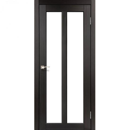 Дверь Torino TR-02 со стеклом бронза Венге