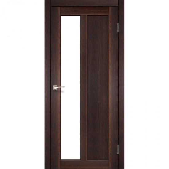 Дверь Torino TR-03 со стеклом бронза Орех