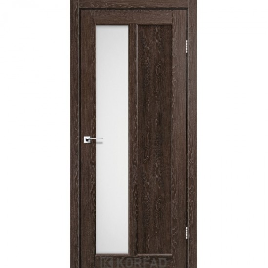 Дверь Torino TR-03 со стеклом бронза Дуб марсала