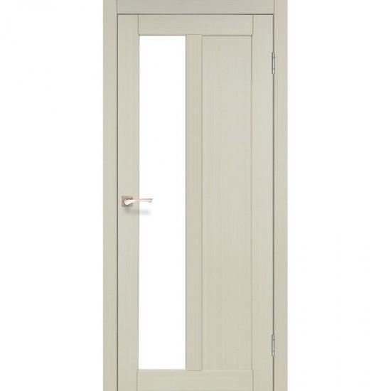 Дверь Torino TR-03 со стеклом сатин Дуб беленый