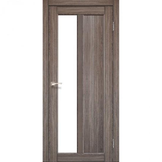 Дверь Torino TR-03 со стеклом сатин Дуб грей
