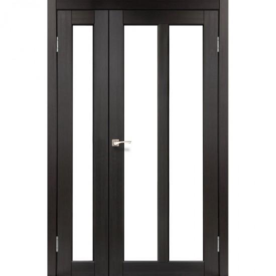 Дверь Torino TR-04 со стеклом бронза Венге
