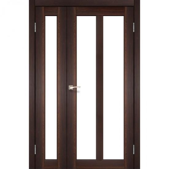 Дверь Torino TR-04 со стеклом бронза Орех