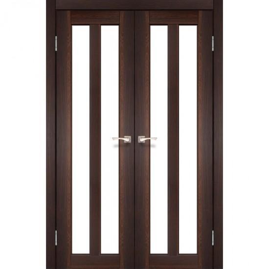 Дверь Torino TR-05 со стеклом бронза Орех
